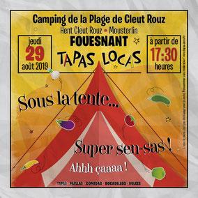 Annonce Tapas Locas de jour de tapas, le mardi après-midi