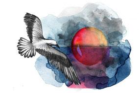 Se sentir aussi libre qu'un oiseau après une séance de digipuncture.