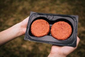 Aldi Wonder Burger vegan