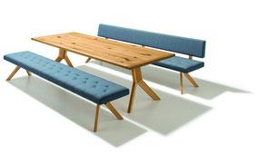 Team7 Auszugstisch Yps Massivholztisch Holztisch Team7-Tisch Esszimmermöbel Tisch Esszimmer