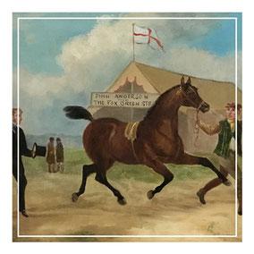 Country horse fair 1870-1880