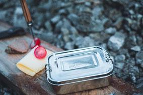 Draussgänger Brotdose Aluminium