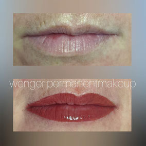 Permanent Make-up bei Wenger Kosmetik in Aarau, Lippen, Lippenrand