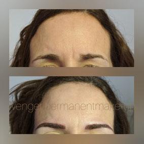 Permanent Make-up bei Wenger Kosmetik in Aarau, Augenbrauen