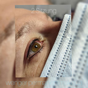 Permanent Make-up bei Wenger Kosmetik in Aarau, Augen, Kajal, Eyeliner