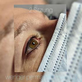 Permanent Make-up bei Wenger Kosmetik in Aarau, Augen, Kajal, Eyeliner