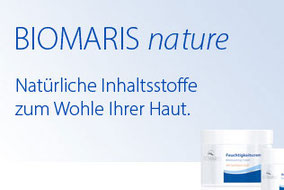 Biomaris nature Produkte bei Wenger Kosmetik und Permanent Make-up in Aarau