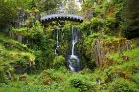 Landschaftsfotografie Deutschland, Bergpark Kassel Wilhelmshöhe, Brücke