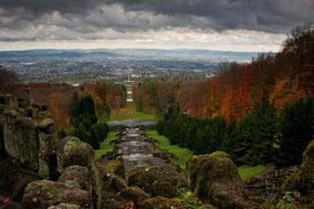 Landschaftsfotografie Deutschland, Bergpark Kassel Wilhelmshöhe, Herbst