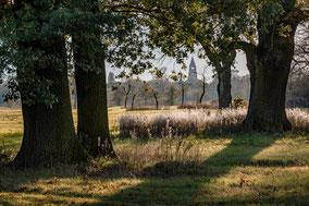 Landschaftsfotografie Deutschland, Dessau, Blick nach Dessau-Nord