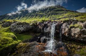 Landschaftsfotograf Sebastian Kaps aus Deutschland, Färöer, Wasserfall