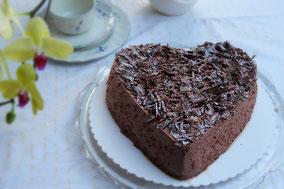 Rezept für eine Schokotorte ohne Zucker - Dinkelprofi.de