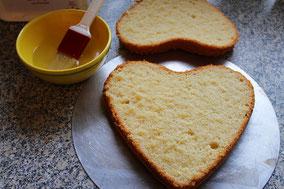 Biscuit aus Dinkelmehl in Herzform - Dinkelprofi.de