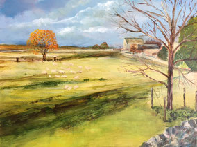By Margaret Mortimore. 'Cat on a Wall'
