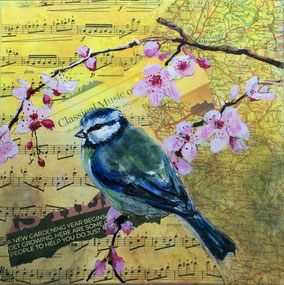 By Gill Ashley 'Free Spirit - although not a horse lover, the image was made in a loose style, in acrylic and pencil.