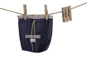 Futterbeutel Leckerlitasche aus Jeans