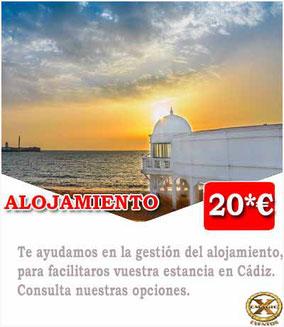 alojamiento para despedidas en Cádiz