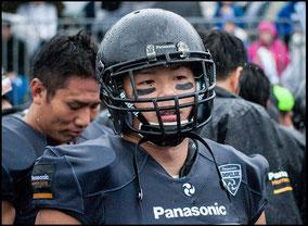 Defensive Back: Atsushi Tsuji