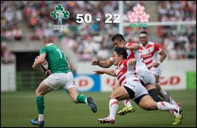 Japan -v- Ireland (June 17th - Shizuoka)