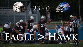 Eagles (23) - (0) Hawkeye