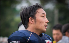 Linebacker: Takuya Iwamoto