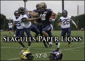 Seagulls (52) - (0) Lions