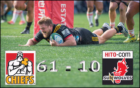 Sunwolves -v- Chiefs