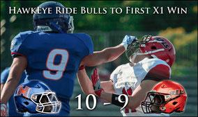Club HawkEye (10) - (9) Bulls Football Club