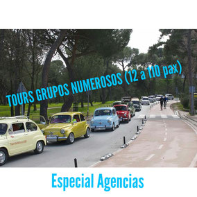 Tours agencias eventos Madrid