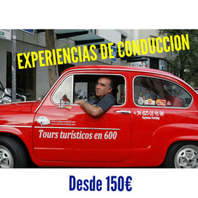 Conduce un Seat 600 en Madrid