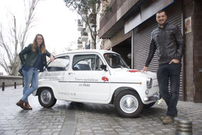 Fotos tours Madrid en Seat 600