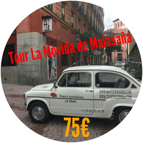 TOUR LA MOVIDA DE MALASAÑA