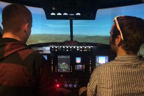 Ausbildung, Schulung, IFR Schulung, SEP Prüfungsflug
