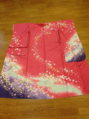ピンク系桜の小柄