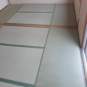 畳の張り替え After