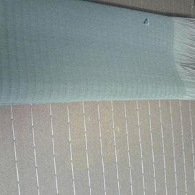 畳の張り替え作業中