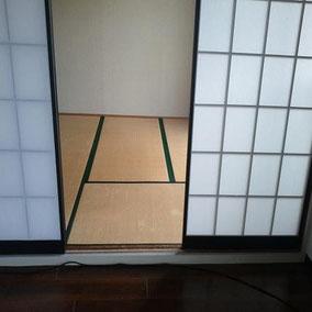 大阪市都島区 畳の張り替え 施工前