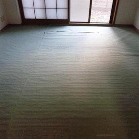 畳用防虫防湿シート施工例