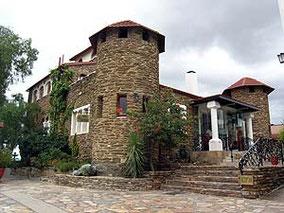 Die Heinitzburg, heute Hotel und Café