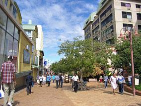 Im Stadtzentrum von Windhoek