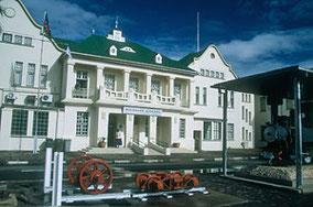 Der Bahnhof von Windhoek