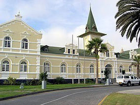 Der alte Bahnhof (heute Swakopmund-Hotel)