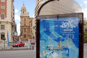 Málaga ist 2016 die Kulturhauptstadt Europas.