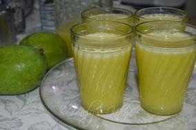 Quelle: http://melyskitchen.blogspot.de/ 2013/12/green-mango-juice.html