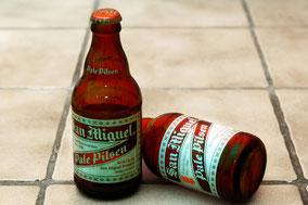 San Miguel Bier aus einem Asien-Laden