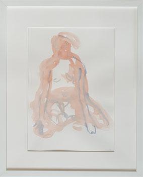 Versensitz, Maya Franzen, Aquarell www.kunst-werk-niederbayern.com