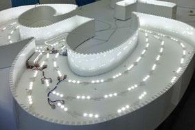 Leuchtbuchstaben, LED-Buchstaben sind eine Art der Leuchtreklame