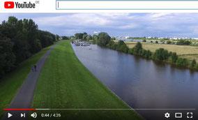 Video: Drohenflug über Arsten an der A1