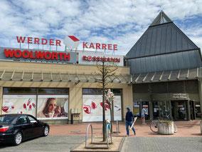 Werder Karree Eingangsbereich zur Habenhauser Brückenstraße, Bremen Obervieland