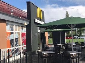 McDonald's Außenterrasse in 28279 Bremen-Habenhausen (Bremen Obervieland)